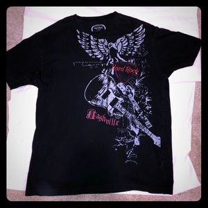 Beautiful Hard Rock Nashville T-shirt! Flawless!